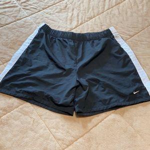 Nike Dri fit lined performance drawstring Shorts
